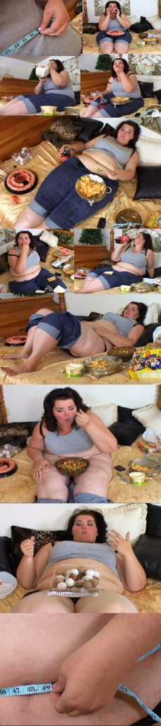 Amazon Amanda Bellystuffing & Overeating